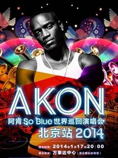 AKON 阿肯So Blue 2014世界巡回演唱会北京站